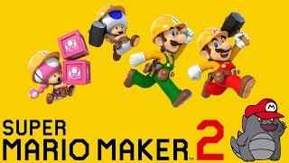 [LIVE] Super Mario Maker 2 - Viewer Levels! | Nintendo Switch | Come hang out with us!