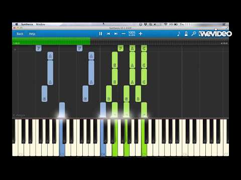 Bo Burnham  From Gods Perspective Synthesia Piano Tutorial