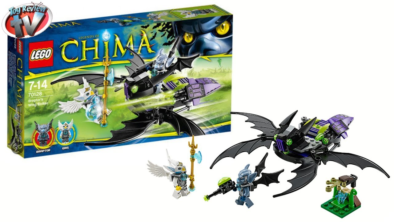 LEGO Chima 2014 Braptor's Wing Striker 70128 Toy Review - YouTube