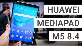 Huawei MediaPad M5 8.4 Hands On & Quick Review