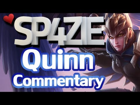 &acirc;&yen; LoL Commentary - Quinn [Is she viable?]