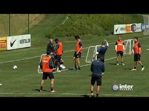 ALLENAMENTO INTER REAL AUDIO 17 04 2014