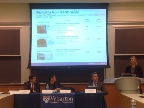 Learning from Hurricane Sandy: A Panel Discussion on Reducing Future Disaster Losses