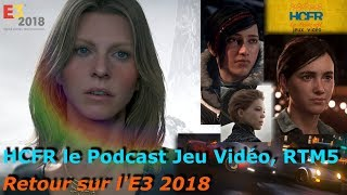 HCFR le Podcast Jeux-Vidéo, RTM5 - Retour sur l