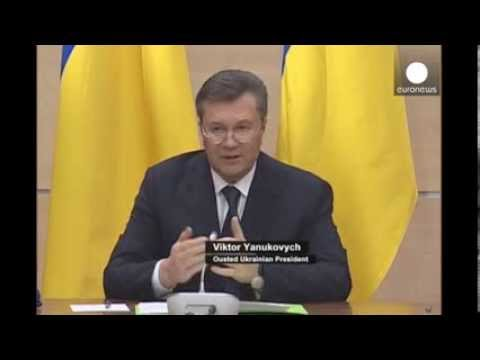 'I'm still president' -- Ukraine's Yanukovych vows to fight back