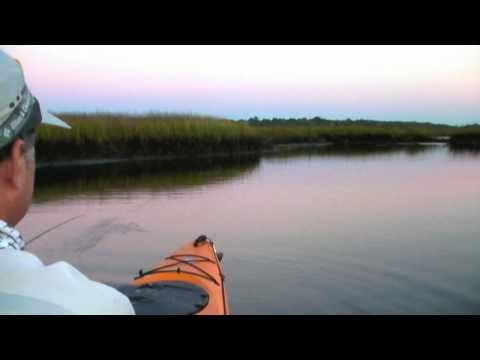 Kayak Fly Fishing for Redfish