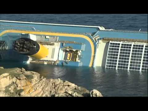 Sonia Gallego reports on the Costa Concordia accident