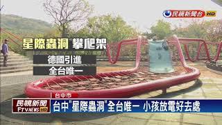星際蟲洞全台唯一 鰲峰山運動公園爆紅-民視新聞