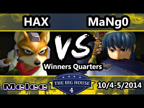 TBH4 - VGBC | Hax (Fox) Vs. C9 Mango (Captain Falcon, Marth) SSBM Winners Quarters - Smash Melee1
