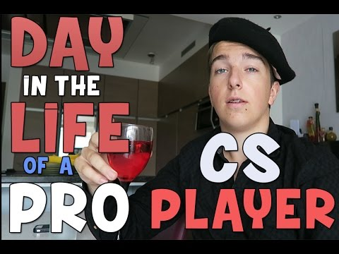 Day in The Life of a Pro CS:GO Player!
