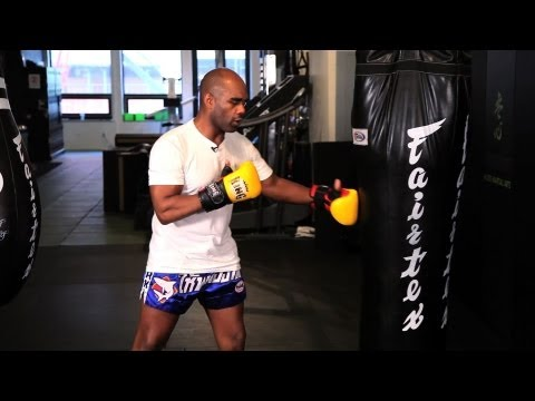 Kickboxing Bag Workout | Muay Thai Kickboxing | MMA Image 1