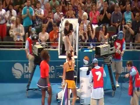 2014 BRISBANE INTERNATIONAL TENNIS -  AWESOME SERENA WILLIAMS IS READY TO BLASTS.