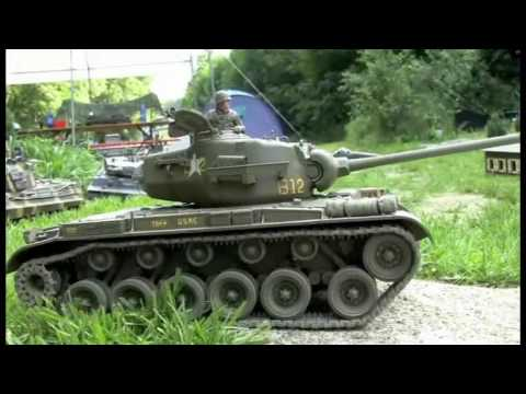 Tankbattle - Panzertreffen in Sigmaringen RC Pershing 1/16 Part 10