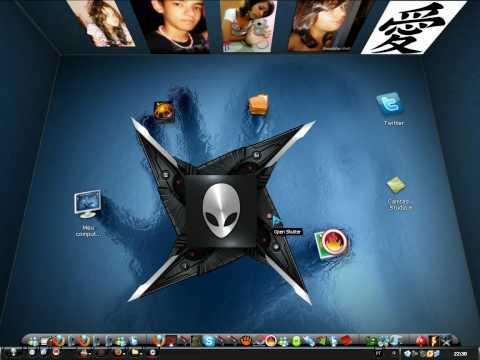 como personalizar seu Desktop 3D
