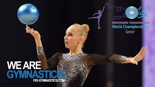 KUDRYAVTSEVA Yana (RUS) - 2014 Rhythmic Worlds, Izmir (TUR) - Qualifications Ball