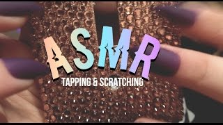ASMR ♥️ tapping and scratching / long nails