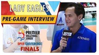 PVL OC 2018: Coach Oliver Almadro   ADMU   CCS vs. ADMU   Pre-game Interview