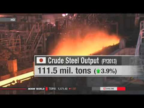 Crude steel output hits highest since 2009