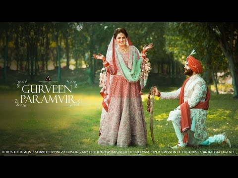 2016 | Best India Punjabi Sikh Cinematic Wedding | Paramvir & Gurveen | Sunny Dhiman Photography