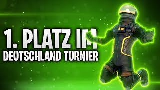 1. PLATZ IM DEUTSCHLAND TURNIER! 💥 | Fortnite: Battle Royale