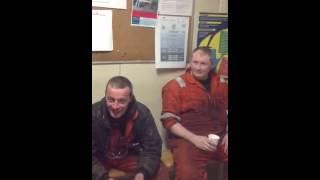 Offshore tea shack banter...Rowan gorilla 6.....