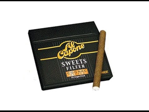 Cheap Cigar Review : Al Capone (Cognac Dipped) Cigarillos