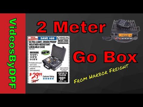 2 Meter Ham Radio Go Box