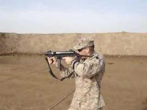 CWO firing Beretta PM12
