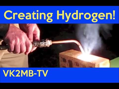 Manly Warringah Radio Society August 2012 Lecture - Creating Hydrogen!