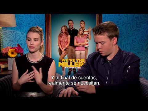 ¿QUIÉN *&$%! SON LOS MILLER? - Entrevista Emma Roberts y Will Poulter - Of. de Warner Bros. Pictures