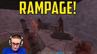 Early Game Rampage | Raiding PVP & Trolling | Rust