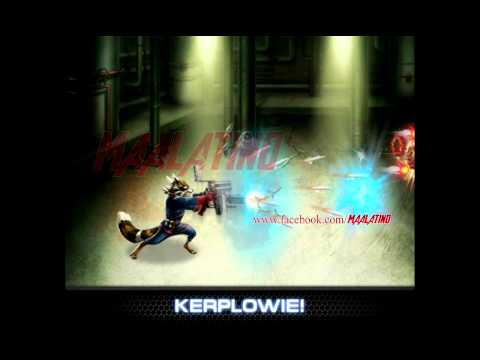Marvel Avengers Alliance - Animación de Rocket Raccoon