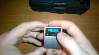 ONN X1 Карманный mp3 плеер с Bluetooth 4.2