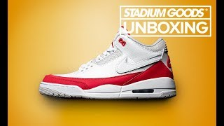 "Air Jordan 3 ""Tinker Air Max 1/University Red"" 