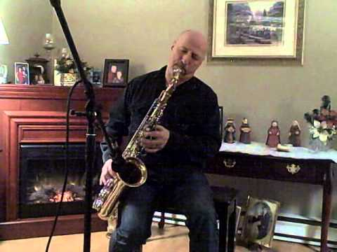 Above All Powers:tenor Sax video