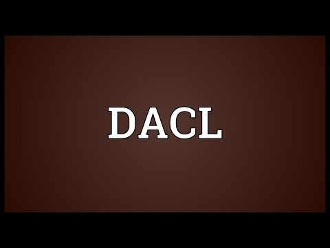 Header of dacl