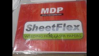 MDP Sheet Flex Garment Film