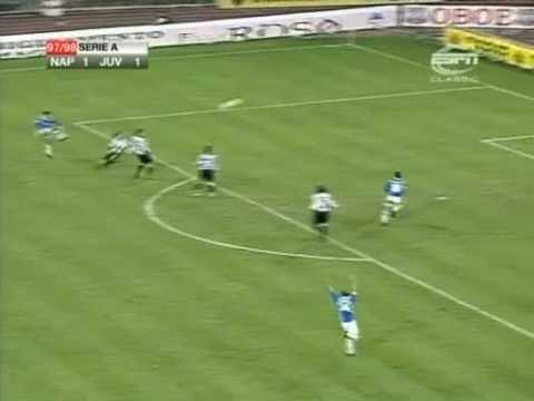 8° Giornata del Campionato 1997-1998 Goals : 38' Z.Zidane (JUVENTUS) 58' C.Bellucci (NAPOLI) 88' D.Fonseca (JUVENTUS)