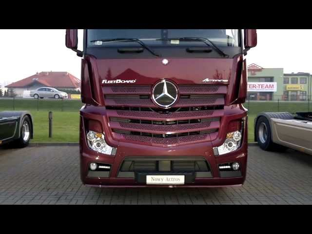 New 2012 Mercedes-Benz Actros (Mp4) - Premiere at Mercedes Mojsiuk - Koszalin 8.11.2011