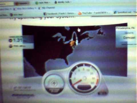 NetZero Online DSL Speed Test