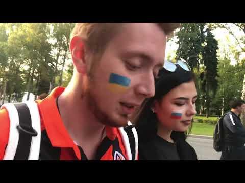 Украинец рассказал, зачем приехал в Россию на Чемпионат мира по футболу | Страна.ua