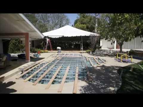 All Safe Platform Pool Cover Event Planning Youtube