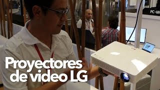 Proyectores de video LG  LED Full HD- oferta para #2015