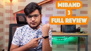 Miband 3 Full Review | Best Fitness Tracker ⌚⌚⌚⌚