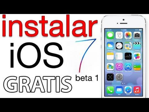 instalar iOS 7 beta 1 GRATIS sin cuenta developer