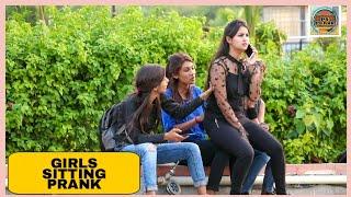 Girls Sitting Prank On Cute Girls By Shelly Sharma   P4 Prank  