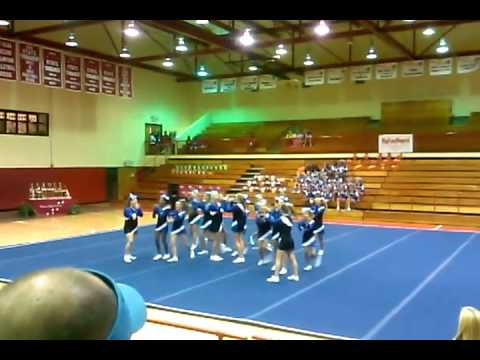 Spooks & Spirits Cheer Competition DHS 10272012 Ashworth Middle School