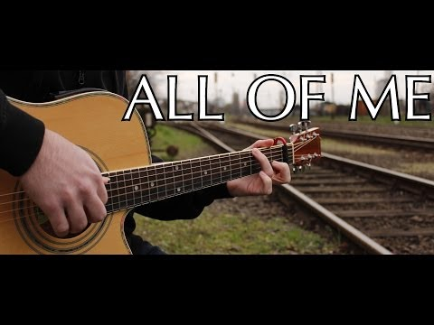 John Legend - All Of Me (fingerstyle Guitar Cover By Peter Gergely) [with Tabs] video