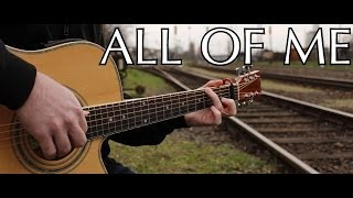 John Legend All Of Me Fingerstyle Guitar By Peter Gergely With Tabs
