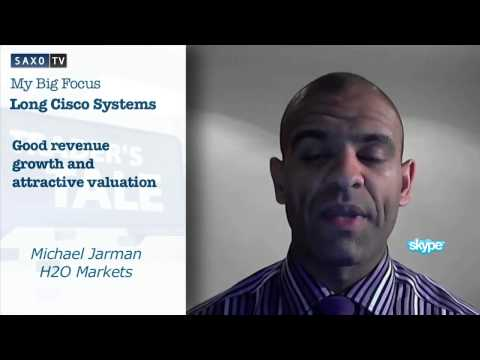 Trade idea: Trade long Cisco Systems on good fundamentals